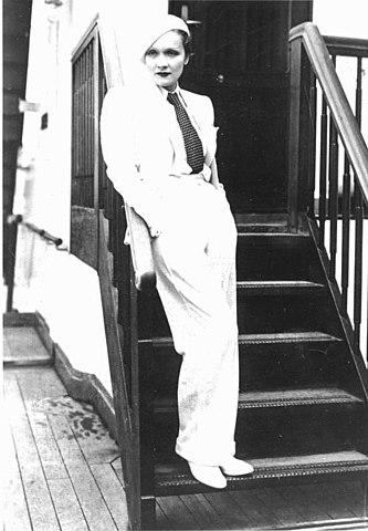 Марлен Дитрих в 1933 году