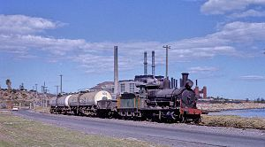 New South Wales Z24 class locomotive - Bunnerong Power Station No7, formerly 2408