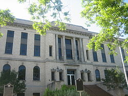 Burleson County, TX, Courthouse IMG 0535.JPG