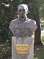 Bust of Count Pál Teleki by Béla Domonkos in Érd.JPG