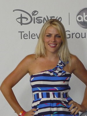 Busy Philipps - Philipps at the Teen Choice Awards in 2010