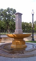 Butt-Millet Memorial Fountain - Presidents Park - Washington DC - 2012-05-16.jpg