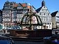 Butzbach, Marktplatz, Marktbrunnen (Butzbach, market square, market well) - geo.hlipp.de - 17743.jpg