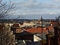 Bydgoszcz - widok miasta a z prawej mury aresztu . - panoramio.jpg