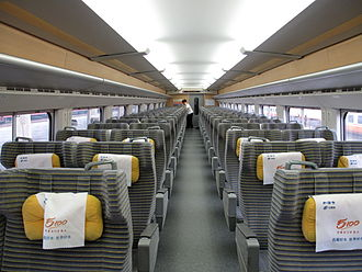 China Railway High-speed - Image: CRH2A First Class Coach 200908