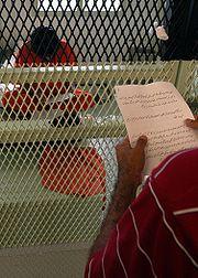 CSRT notice read to a Guantanamo captive