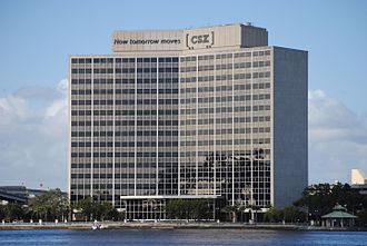 CSX Transportation - CSX headquarters building in Jacksonville, Florida