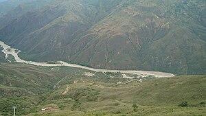 Chicamocha Canyon - Image: Cañónteleférico