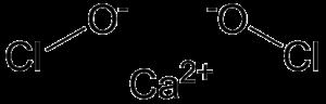 Calcium hypochlorite - Image: Calcium hypochlorite