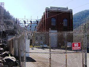 Calderwood Dam - Calderwood's powerhouse