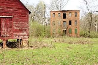 National Register of Historic Places listings in McCormick County, South Carolina - Image: Calhoun Mill 2