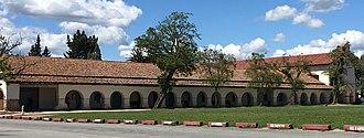 San Juan Bautista, California - Image: California Mission San Juan Bautista (cropped)