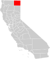 California county map (Modoc County highlighted).svg
