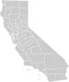 California county map (San Francisco County highlighted).svg