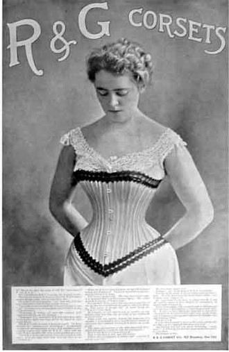 Bra - Ladies' Home Journal, October 1898