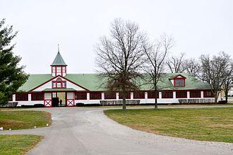 Equine industry in Kentucky - Calumet Farm