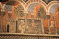 Camera della castellana di vergy, ciclo pittorico, 1350 circa 13.JPG