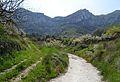 Camins prop de Llombai, la vall de Gallinera.JPG