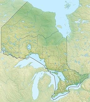 Toronto znajduje się w Ontario