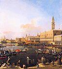 Венеция, Бачино-ди-Сан-Марко в День Вознесения Господня