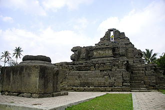 Malang - Jago Temple, a place of worship for King Wisnuwardhana, in Tumpang, Malang Regency