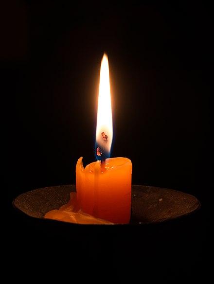 Candle %28Slava celebration%29., From WikimediaPhotos