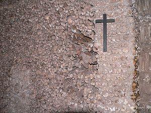 Bone Chapel wall detail