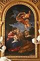 Cappella palluzzi-albertoni di giacomo mola (1622-25), con beata ludovica alberoni di bernini (1671-75) e pala del baciccio (s. anna e la vergine) 04.jpg