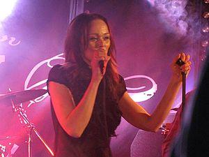 Capri Virkkunen - Capri performing a solo show live in Tampere, Finland
