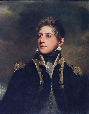 Sir Peter Parker, 2nd Baronet - Captain Peter Parker (John Hoppner, ca. 1808-1810)