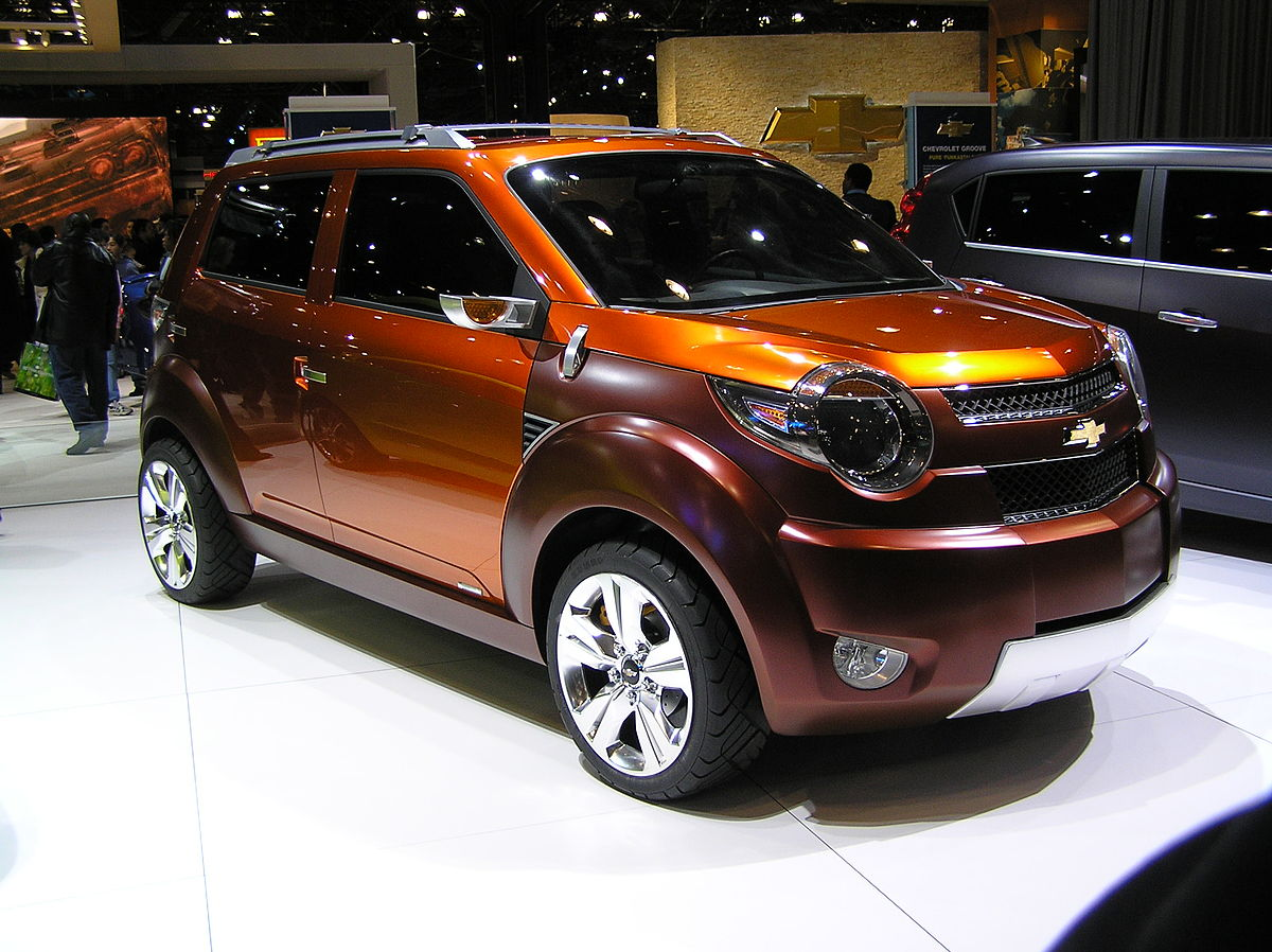 Chevrolet Trax Concept Car Wikipedia