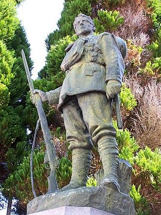 1924 in Wales - Image: Carmarthen County War Memorial