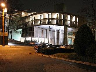 Carpenter Center for the Visual Arts - The Carpenter Center at night