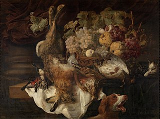 Still Life with a Dog and a Cat