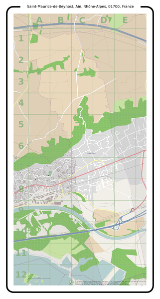 File:Carte Saint-Maurice-de-Beynost - Ain - France.png - Wikimedia Commons