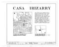 Casa Ramon Irizarry, 121 Calle Reina, Ponce, Ponce Municipio, PR HABS PR,6-PONCE,8- (sheet 1 of 5).png