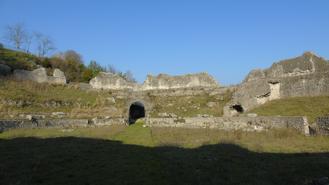 Latin Rights - Roman Amphitheatre of Casinum, in Ancient Latium, in today's Latin Valley