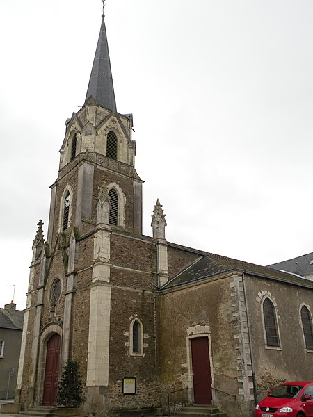 Saint-Louis church of Casson