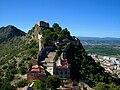 Castell Major des del Castell Menor, Xàtiva.JPG