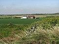 Castle Farm viewed across wheat field - geograph.org.uk - 801417.jpg