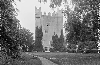 Rathkeale - Castle Matrix, Rathkeale circa 1900