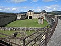 Castle of Mauleon, overview of the yard.jpg