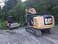 Caterpillar 316E East Burke VT June 2018.jpg