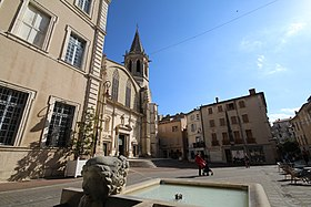 image illustrative de l'article Cathédrale Saint-Siffrein de Carpentras