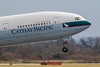 B-HNR - B77W - Cathay Pacific
