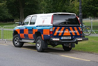 Civil Defence Ireland - Image: Cdpickup