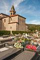 Cemetery beside Saint Mary Church in Iria Flavia, Padrón, Galicia, Spain.jpg
