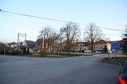 Center of Domamil, Třebíč District.JPG