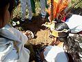 Ceremonia azteca de bienvenida a la primavera en Ayahualulco, Veracruz, México. 29.jpg