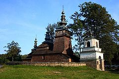 Widok ogólny cerkwi
